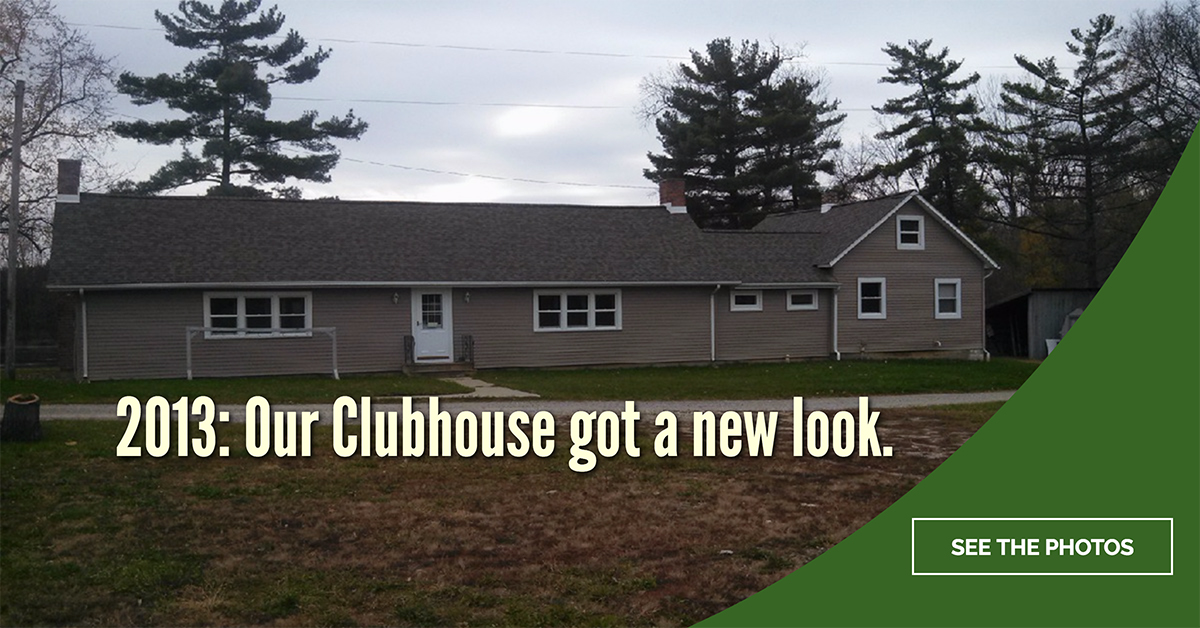 OCC Clubhouse Gets New Siding