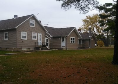 Ossian Conservation Club Clubhouse | Southeast View