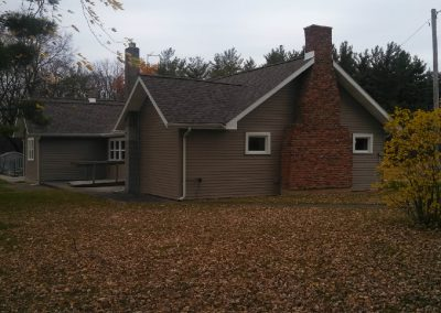 Ossian Conservation Club Clubhouse | Southwest Corner