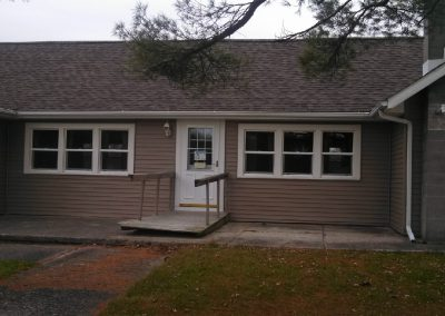 Ossian Conservation Club Clubhouse | South View