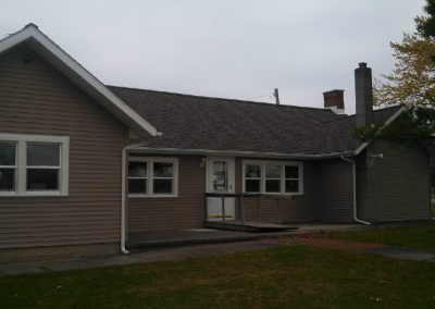 Ossian Conservation Club Clubhouse | Another South View