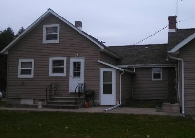 Ossian Conservation Club Clubhouse | South View of Caretakers Residence