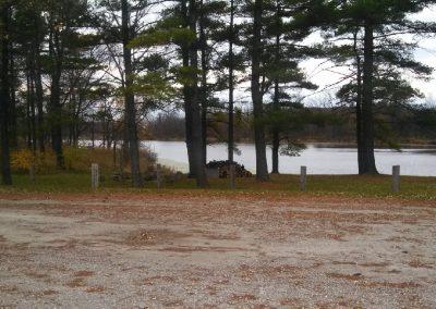Camping Area & Lake