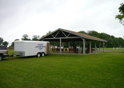 Pavilion with OCC Trailer