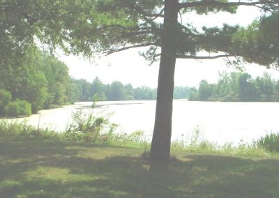 Lake, viewed from Side of Clubhouse